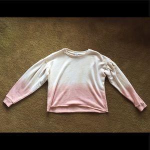 American Eagle Puff Sleeve Sweatshirt Size XS